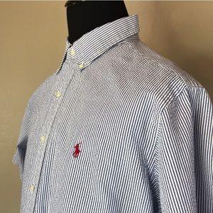 Ralph Lauren Shirts - Ralph Lauren | Striped Shortsleeved Shirt XL